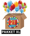 21 jaar party artikelen pakket XL