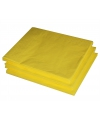 Paas servetten geel 25 stuks