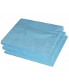 BBQ servetten lichtblauwe kleur  25 stuks