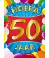 50 jaar thema mega deurposter