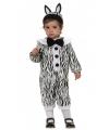 Zebra outfit voor babies