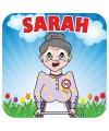 Vierkante bierviltjes Sarah
