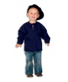 Donkerblauwe kinder boeren kiel