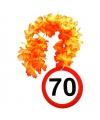 Hawaiislinger verjaardag 70 jaar