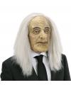 Masker met pruik oude butler