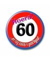 Button Hoera 60 jaar