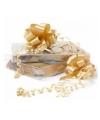 Gouden trekstrik 8 cm