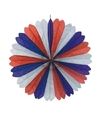 Rood/wit/blauw decoratie waaier