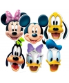 Mickey en vrienden gezichtsmaskers
