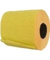 WC papier geel