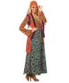 Gekleurd hippie dames pak