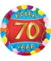 70 jaar verjaardag party viltjes