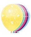 5 jaar versiering helium ballonnen