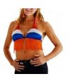 Bikini topje in de Nederlandse kleuren