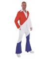 Holland pak voor heren rood, wit, blauw