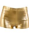Kort gouden broekje voor dames