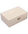 Decoratief kistje van hout 15 cm
