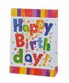 Cadeautasje Happy Birtday 25x34 cm
