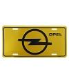 Aluminium wandplaat Opel