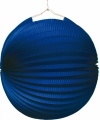 Blauwe feest lampion