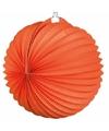 Ronde oranje lampionnen