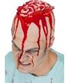 Latex kap met hersenen