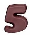 Bakvorm van siliconen materiaal cijfer 5