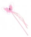 Prinses verkleedaccessoires toverstaf roze