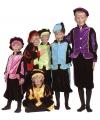 Kinder kostuum Zwarte Piet roze
