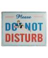 Wand bordje Do Not Disturb 30 x 40 cm