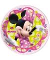 Kartonnen bordjes van Minnie Mouse 8 stuks