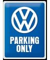 Retro muurplaat Volkswagen 30 x 40 cm