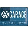 Nostalgisch muurplaatje 20 x 30 Volkswagen