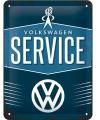 Retro muurplaatje Volkswagen 15 x 20 cm