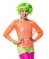 Neon groene hotpants dames