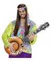 Opblaasbare hippie banjo