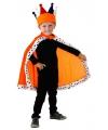 Oranje Koning capes voor kinderen