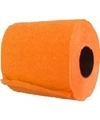 WC papier oranje