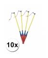 Lampionstokjes voordeel pak van 10 stuks