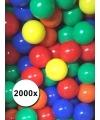 Gekleurde ballenbak ballen mix 2000x
