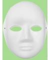 Knustel maskers vrouwen gezicht