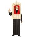 Carnavalskleding pastoor met biechtstoel voor volwassenen