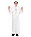Carnvals kostuum Paus