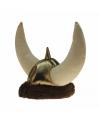 Viking verkleed helm van pluche