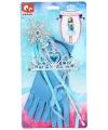 IJsprinses verkleedset blauw