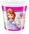 Sofia het prinsesje thema feestje bekers 8 stuks