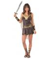 Dames gladiator carnavalskleding
