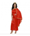 Romeinse dames jurk rood