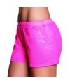 Roze dames hotpants met pailletten