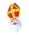Kartonnen Sinterklaas masker